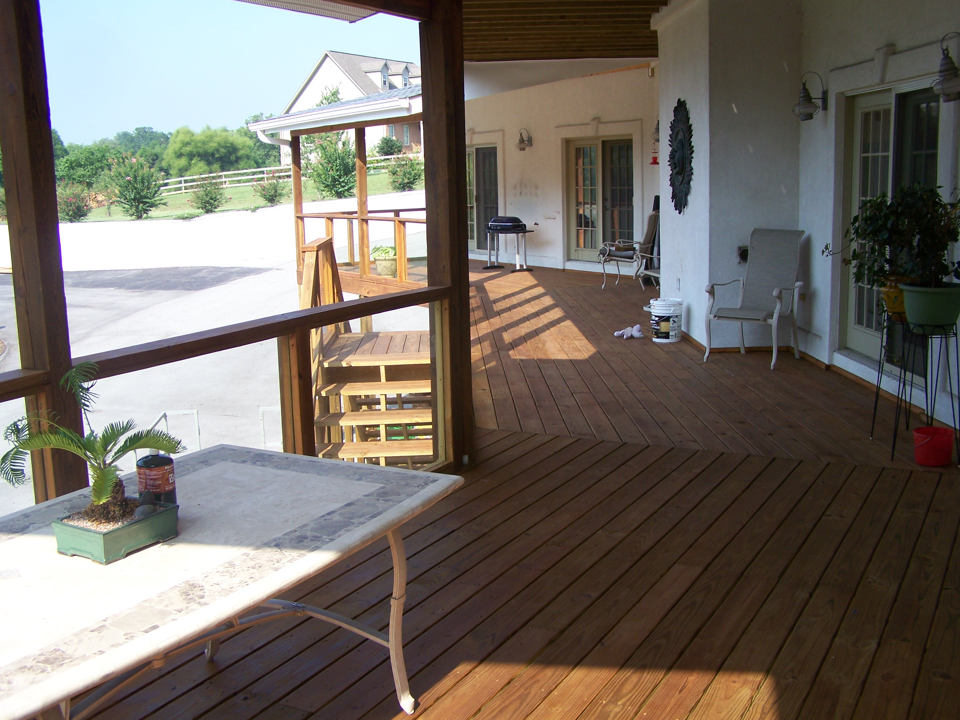 Large Deck In Loudon County Tennessee Deck Builders