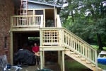 Deck With Screened Porch